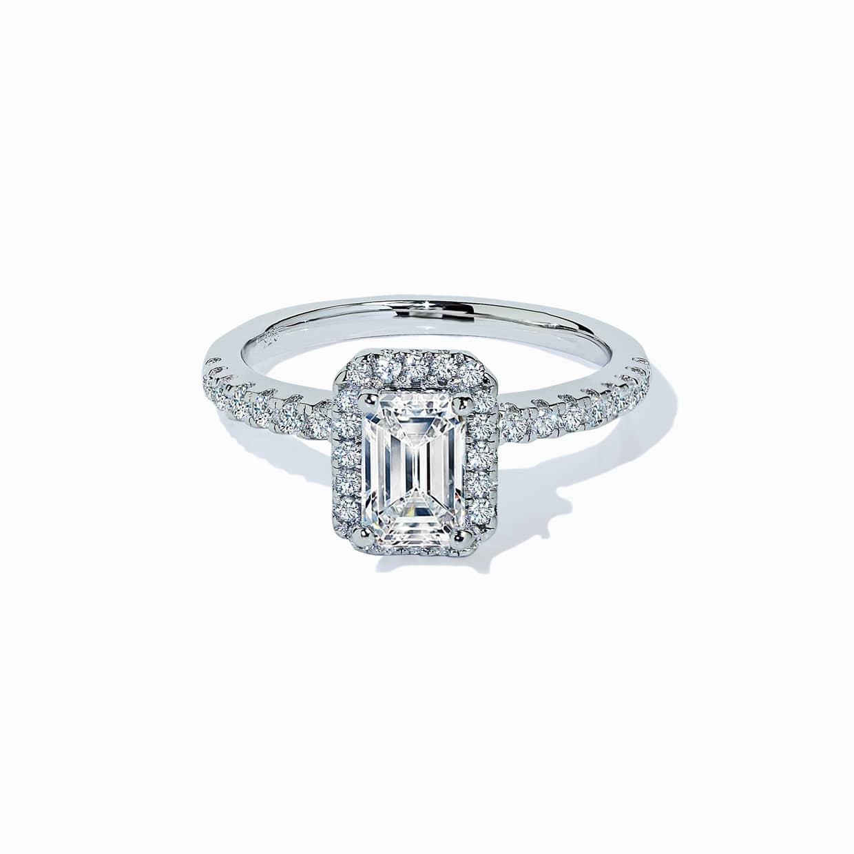 Oxford Classic Halo Radiant Ring