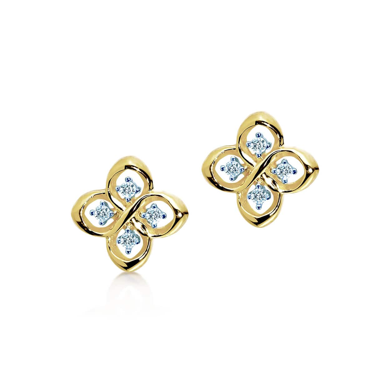 Oxford Gold Petite Earrings - Abelstedt