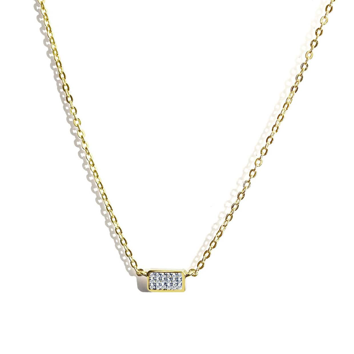 Oxford Gold Petite Necklace