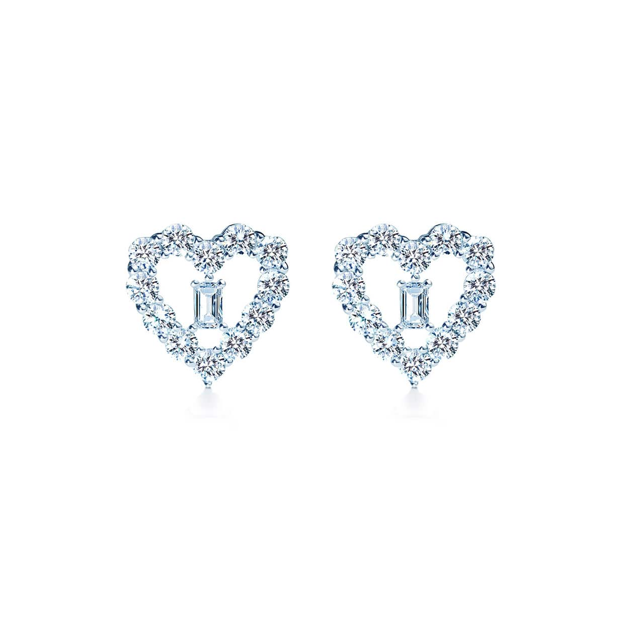 Oxford Heart Earrings - Abelstedt