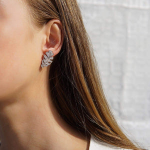 Oxford Palm Earrings - Abelstedt