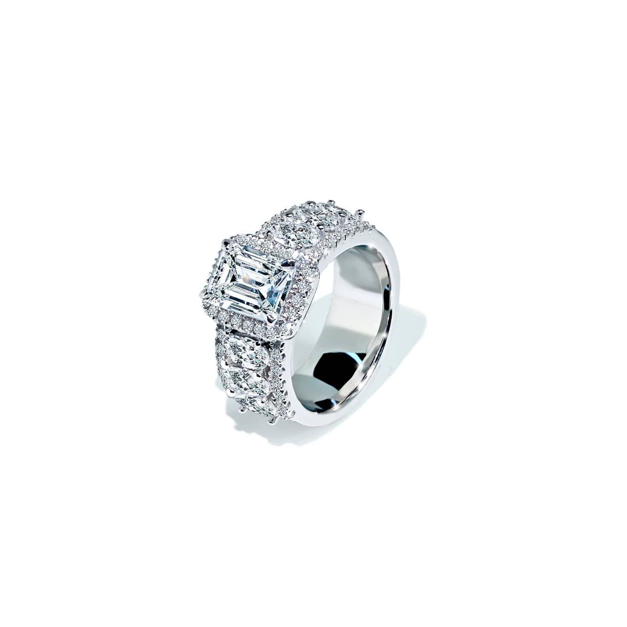 Oxford Radiant & Oval Ring - Abelstedt