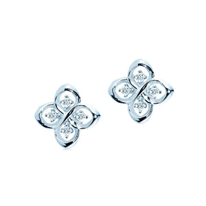 Oxford Silver Petite Earrings - Abelstedt