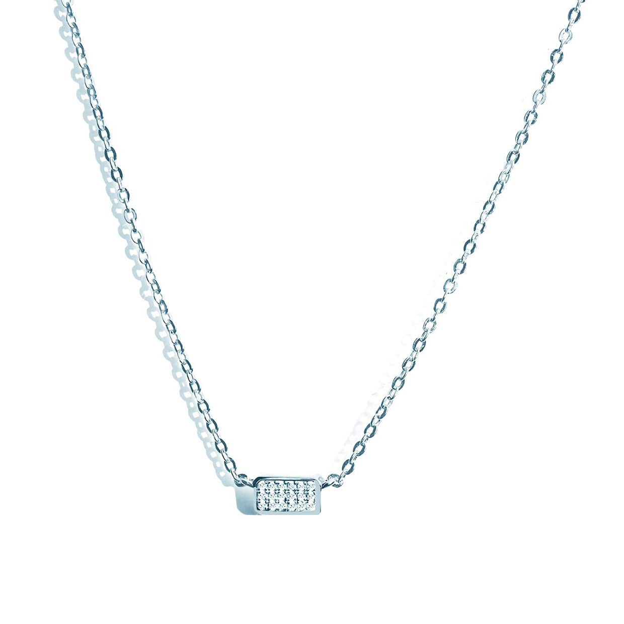 Oxford Silver Petite Necklace - Abelstedt