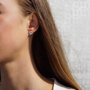 Oxford Silver Petite Star Earrings - Abelstedt