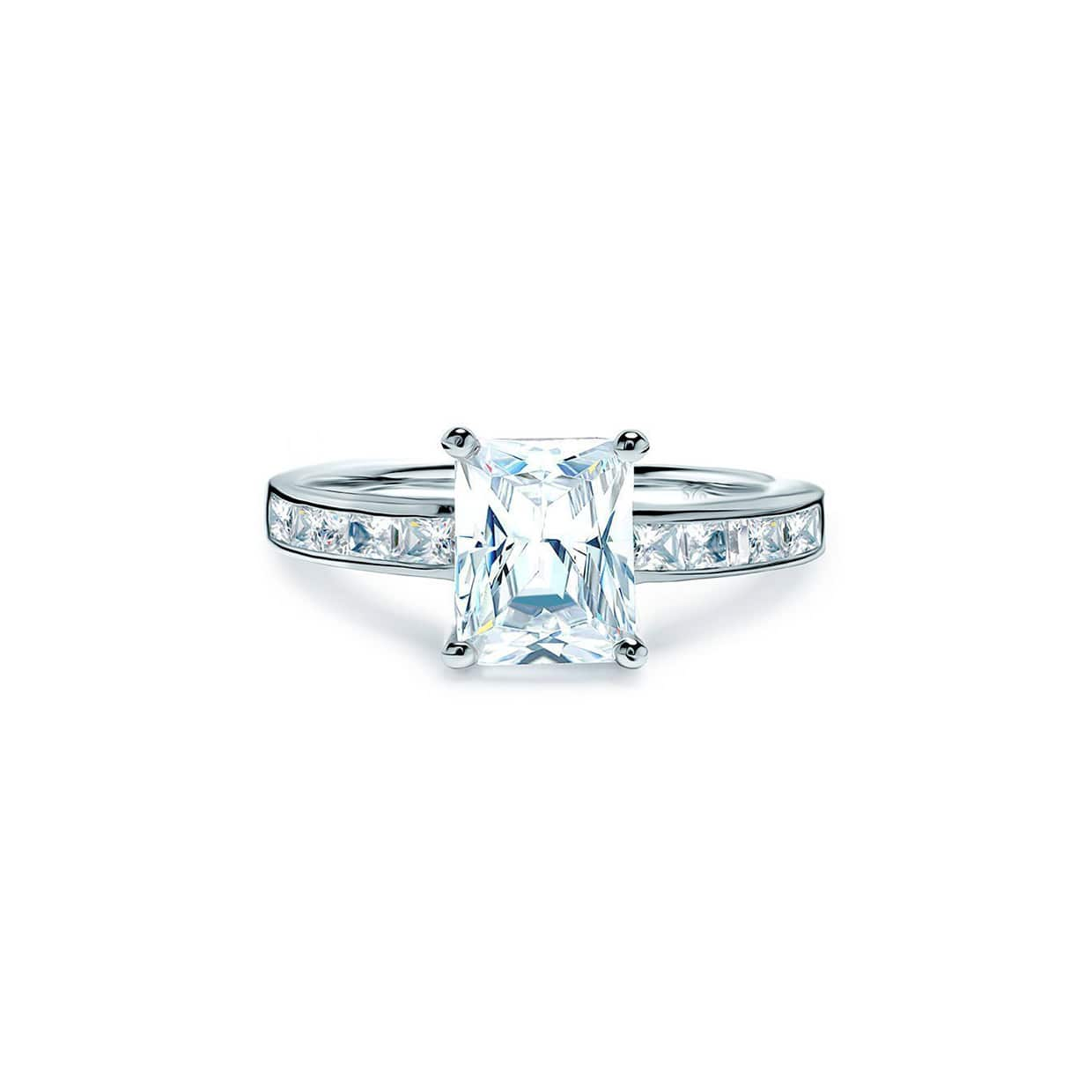 Oxford Silver Radiant Ring