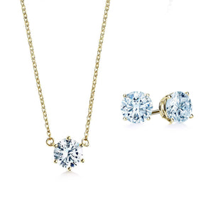 Oxford Solitaire Gold Gift Set - Abelstedt