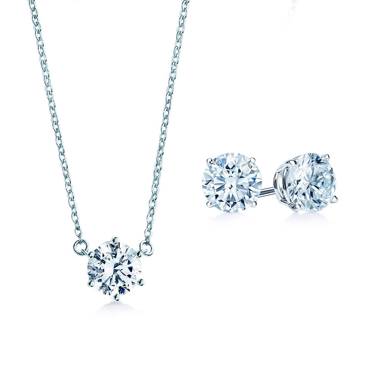 Oxford Solitaire Silver Gift Set