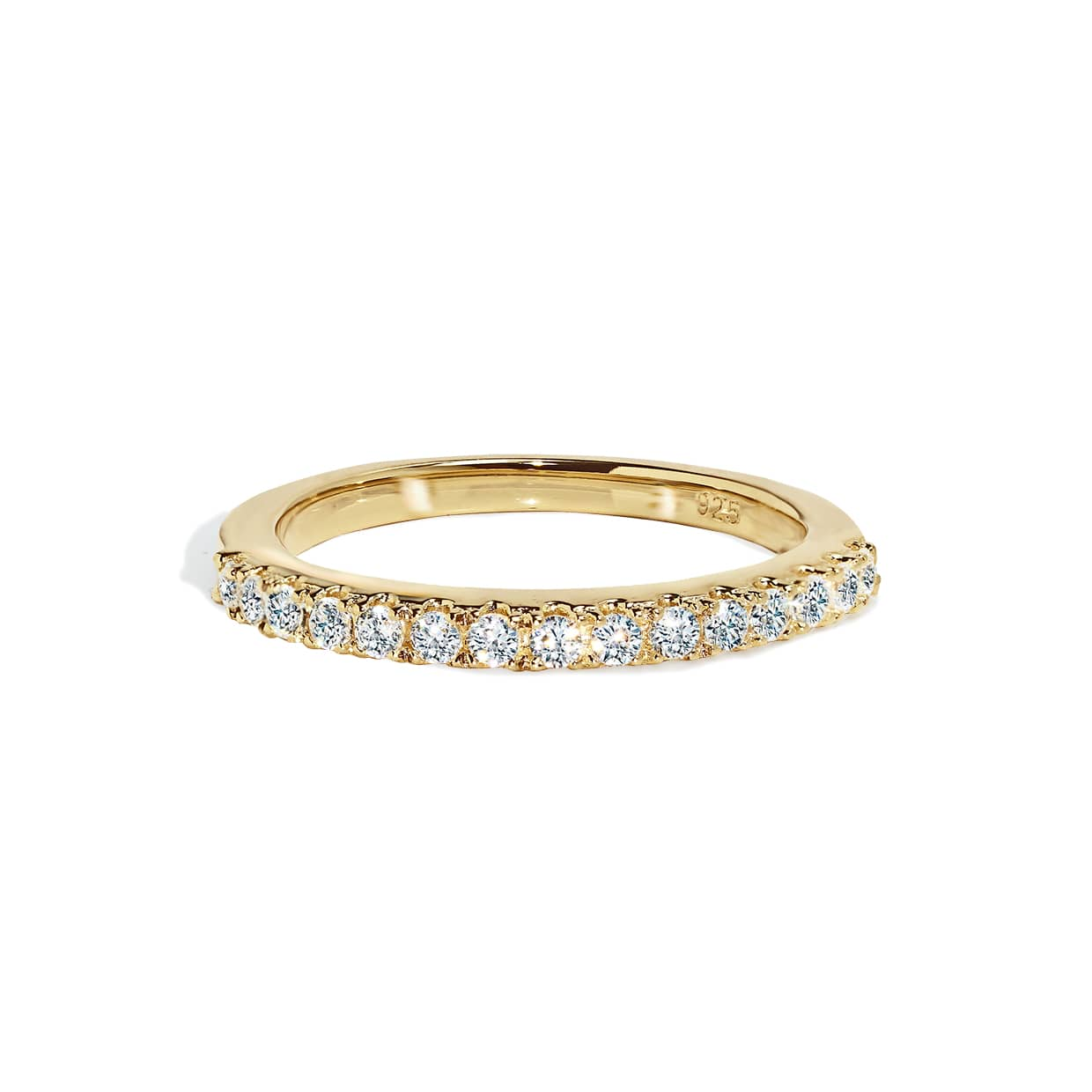 Oxford Thin Gold Band Ring - Abelstedt