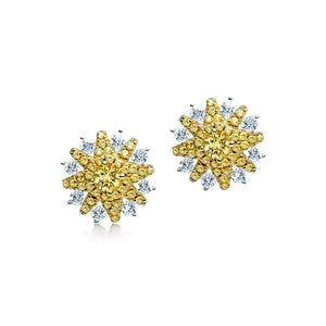 Sahara Iconic Yellow Earrings - Abelstedt