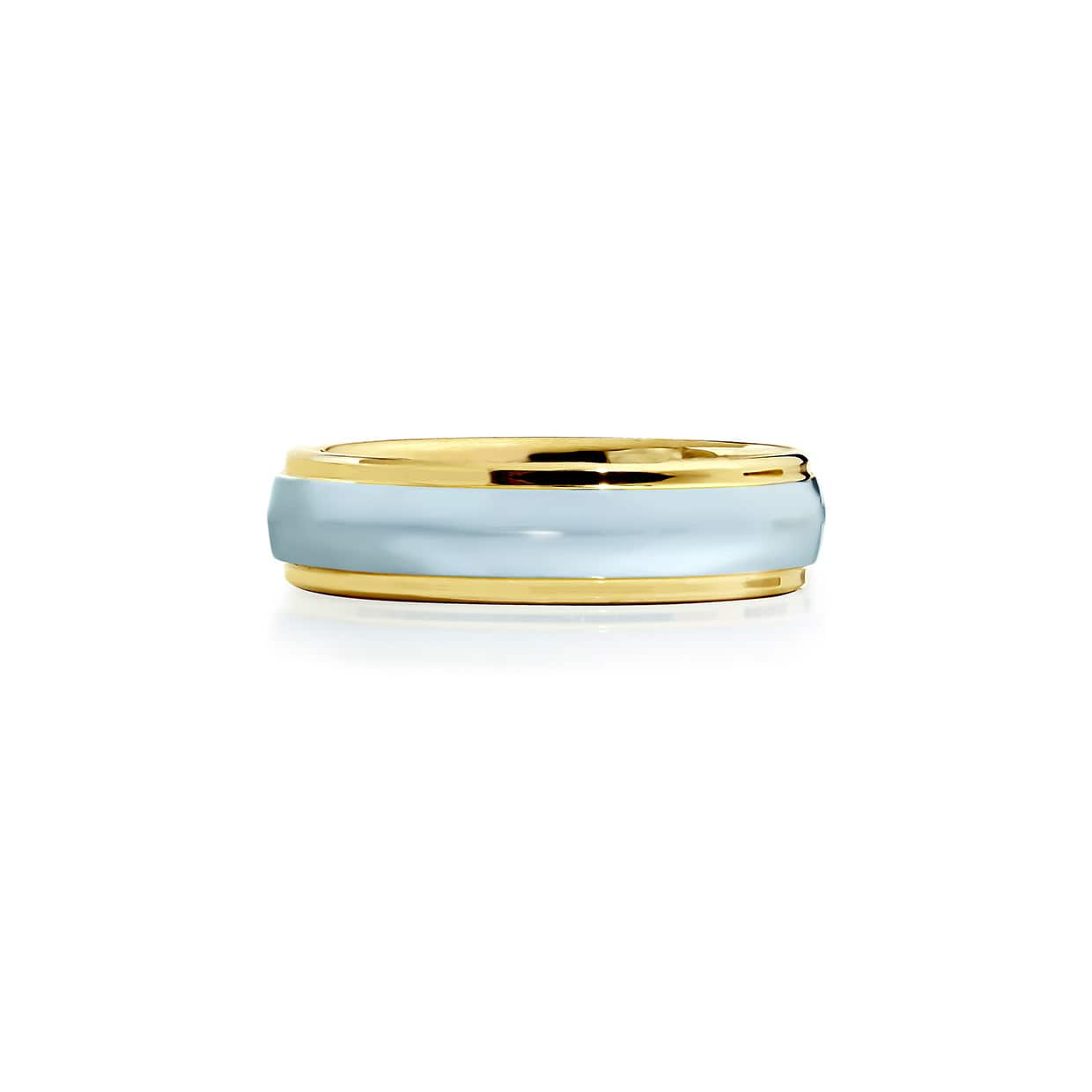 Tungsten Ring Golden & Grey - Abelstedt