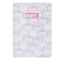 Marvel- Wirebound Book 100 Sheets,TYPE-2007111811103