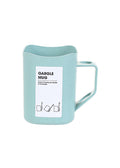 Gargle Mug Toothbrush Holder (Blue & Green)