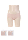 Women's Comfortable Seamless Briefs (L, Flesh Color)
