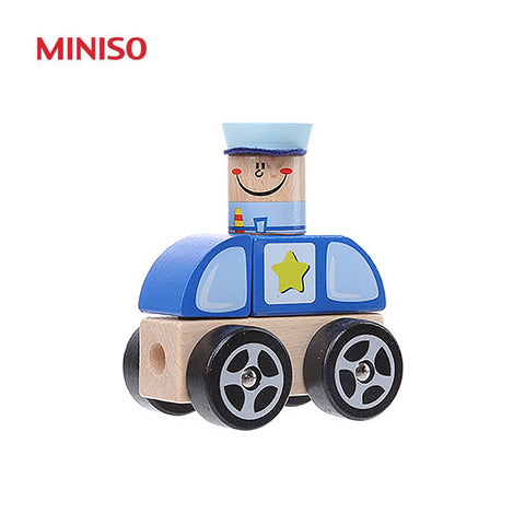 Vehicle Series(Police Car Building Blocks - cs2281)