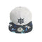 Miniso Nautical Style Flat Visor Cap (Grey)-0700057161