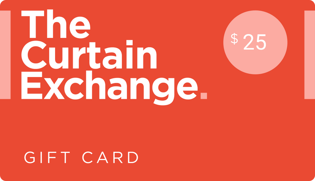The Curtain Exchange Gift Card