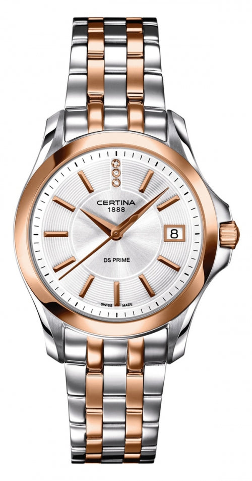 Certina DS Prime Lady Diamond horloge C0042102203600