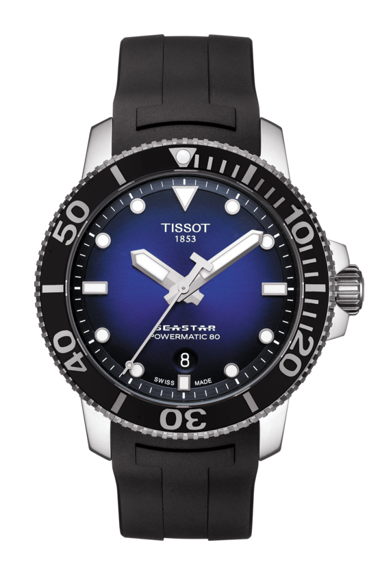 Tissot T- Sport Seastar 1000 Powermatic 80 T1204071704100