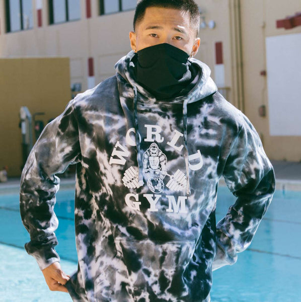 World Gym Special Edition Tye Dye Pullover Hoodie