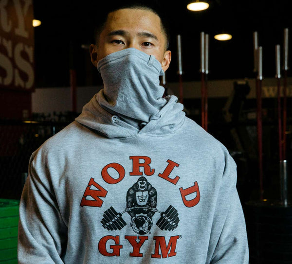 World Gym Special Edition Grey Hoodie
