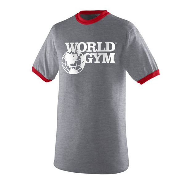 World Gym Ringer T-Shirt