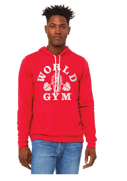 World Gym Fleece Hoodie