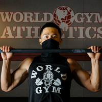 World Gym Special Edition Black Pullover with Gaiter