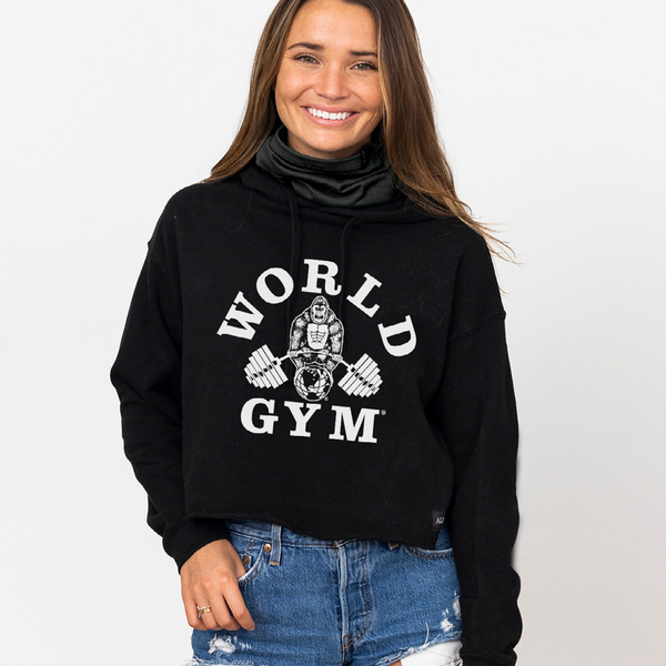 World Gym Special Edition Cropped Hoodie