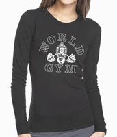 Ladies Black Long Sleeve Thermal