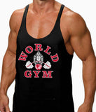 World Gym Stringer Tanks