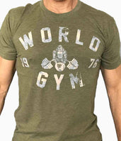 World Gym Tri-BLend Vintage Tee