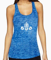Ladies Burnout Racer Tank