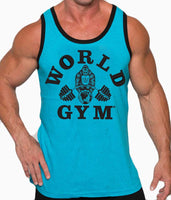 World Gym Jersey Ringer Tank