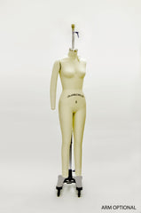 Female Full Body Dress Form With Arm