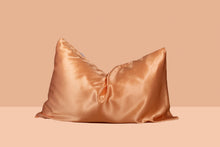 Load image into Gallery viewer, Extravagant Peach - Mulberry Silk Pillowcase