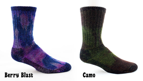 Tie-Dye Survival Socks