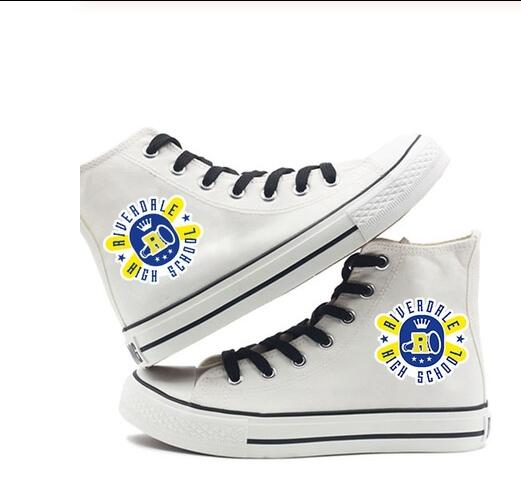 Men's high-top canvas shoes