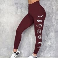 Laamei Women Gym Leggings Sexy Fitness Push Up High Waist Pocket Workout Slim Leggins Fashion Casual Mujer Pencil Pants