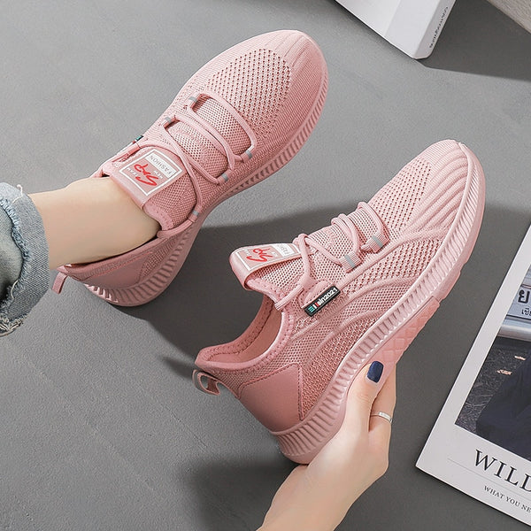 Women Casual Shoes  Classic Breathable Walking Shoes Women Fashion Sneakers Trend Student Shoes Popular Fitness Shoes Mesh Shoes