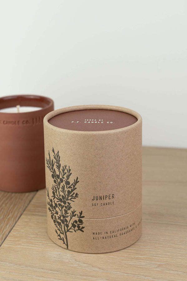 P.F. Candle Co Juniper Terra Soy Candle