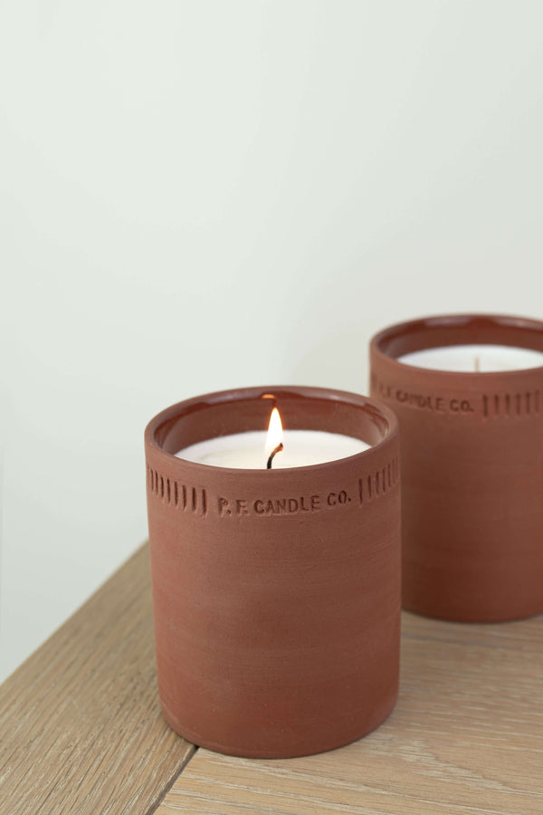 P.F. Candle Co Geranium Terra Soy Candle