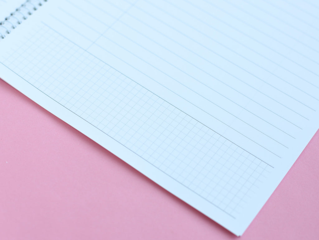 Iconic Cornell Lined / Gridded Notebook
