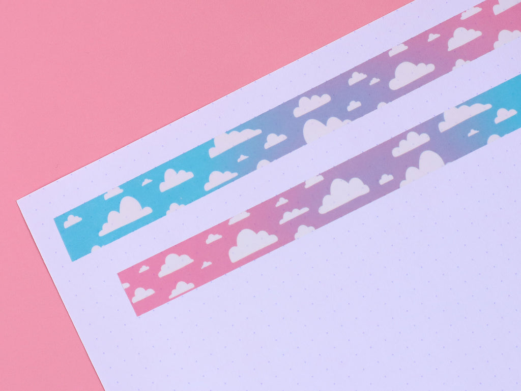 Ombre Clouds Washi Tape