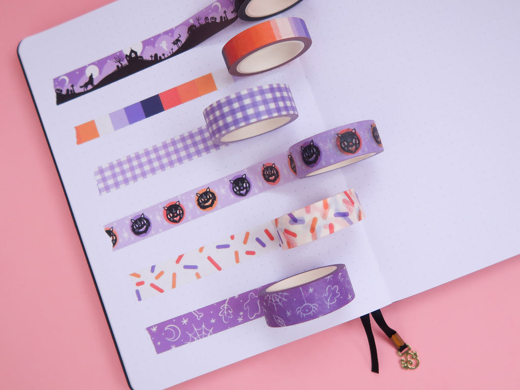 Hallowee Collection Washi Tape