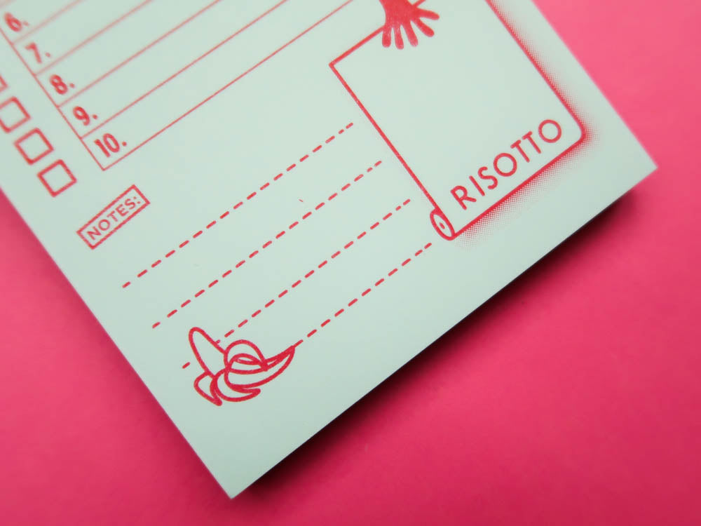 Risotto Studio Hit List Notepad - A6