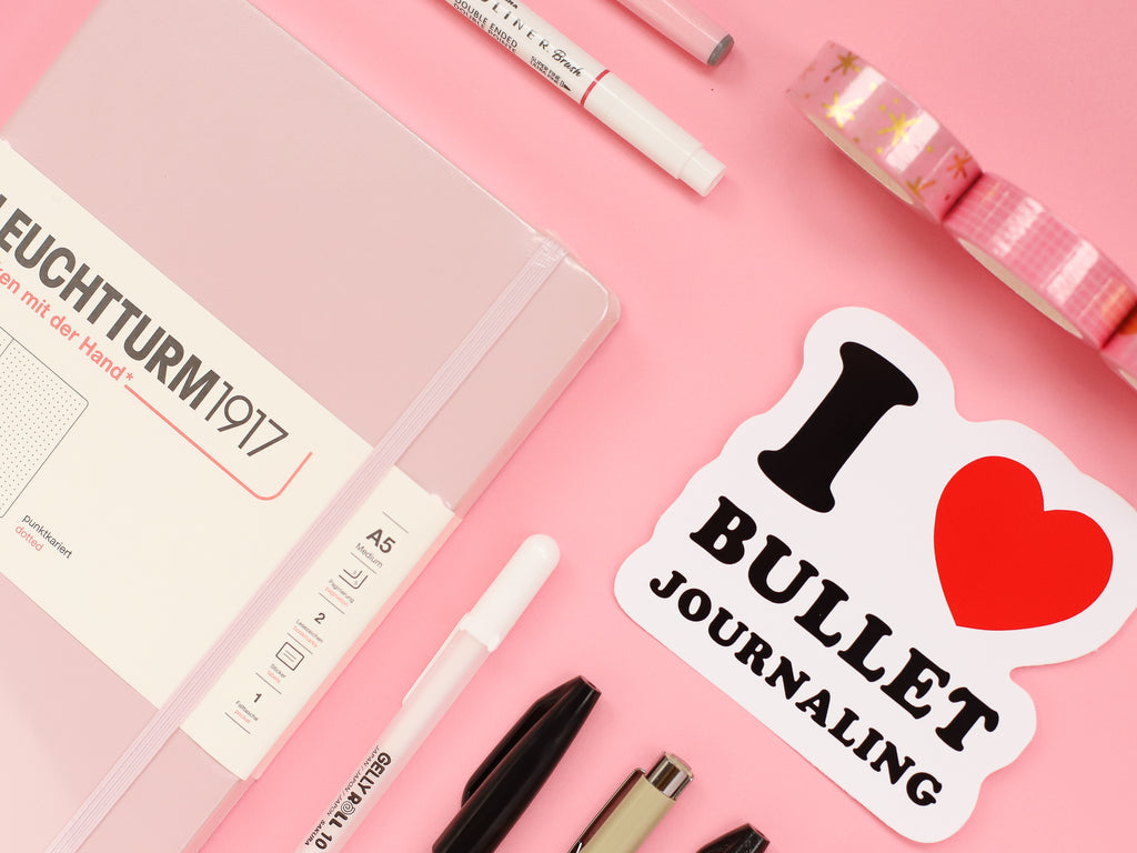Bullet Journal Starter Kit - Blossom Pink