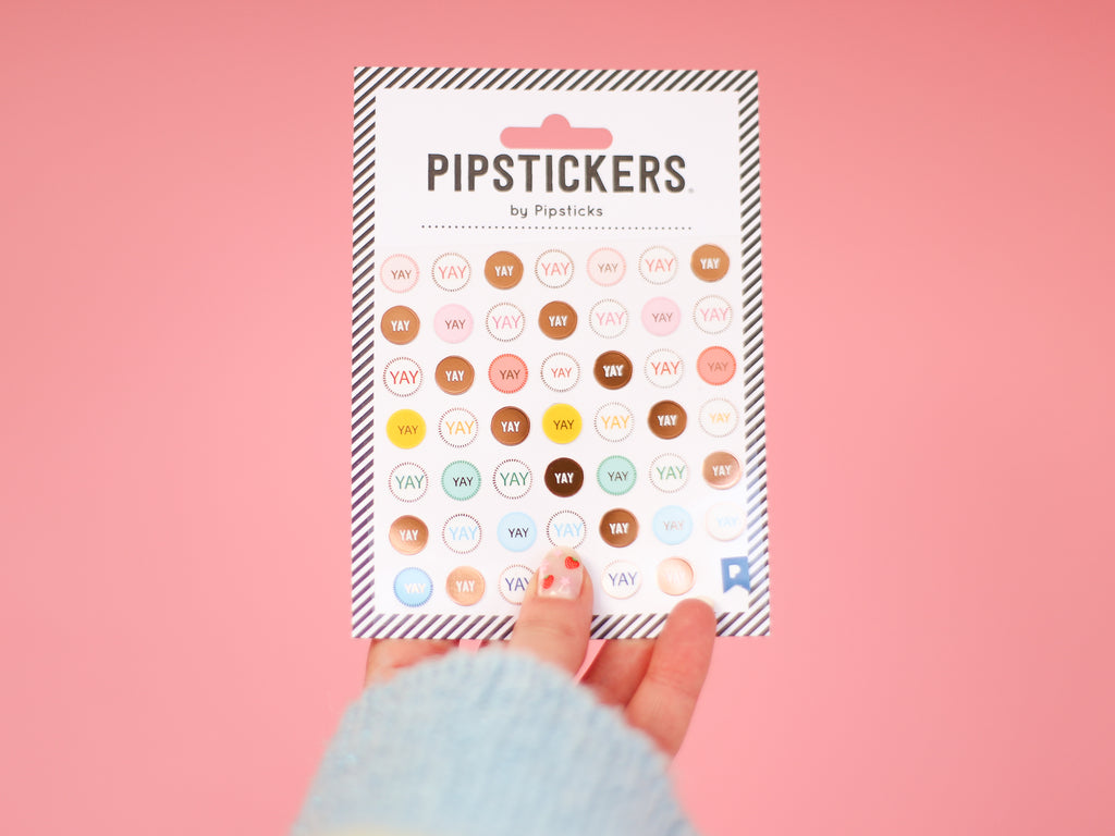 Yay! Pipsticks Stickers