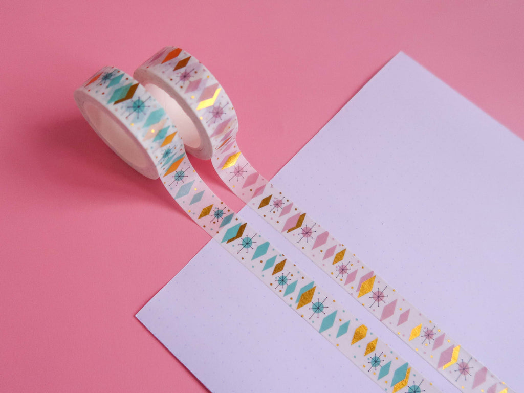Mid Century Magic Washi Tape