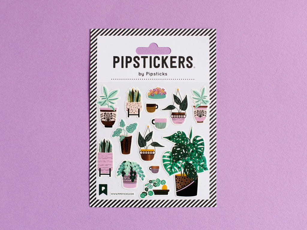 Growing Together Plant Stickers